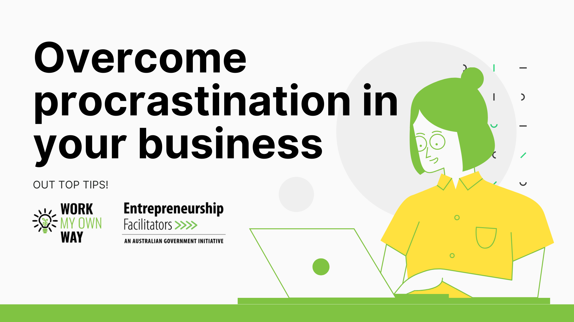 Overcome procrastination in your business