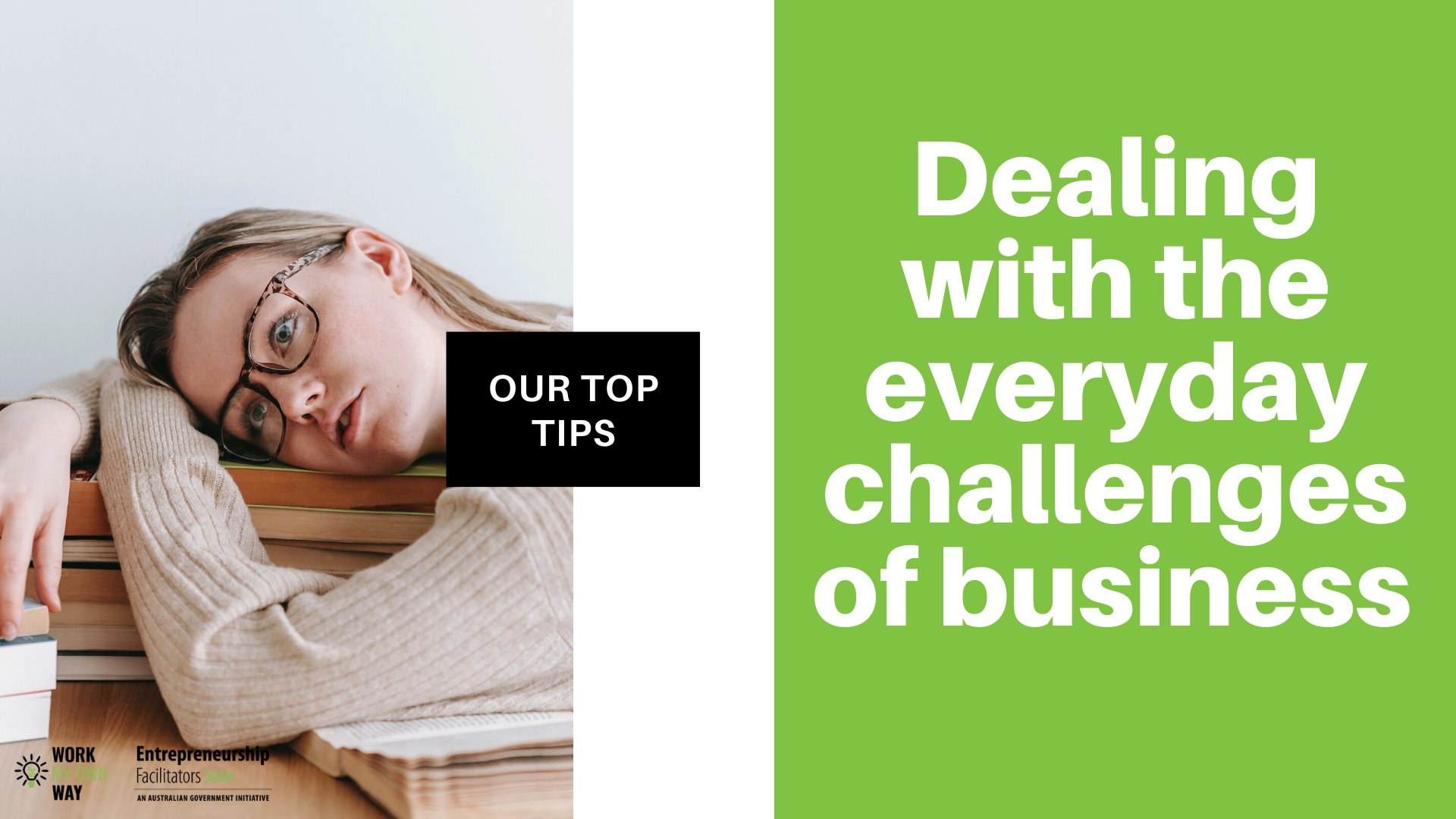 Dealing with business challenges - our top tips